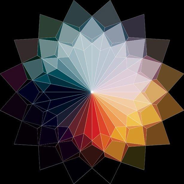 神奇數字藝術:andy gilmore的色彩幾何世界(4) - 設計