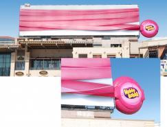 最长的泡泡糖:HubbaBubba户外创意广告