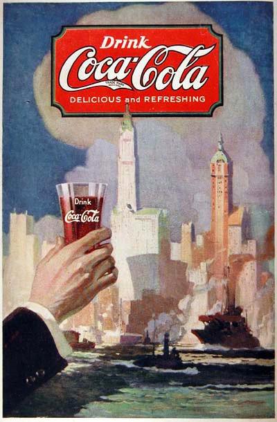 国际资讯_1889-2008年可口可乐广告集合(2) - 设计之家