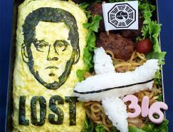 25个疯狂创意的快餐盒饭