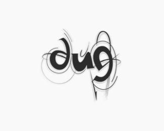 """字母""""D""""的标志设计欣赏"""