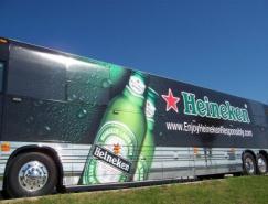 47款国外大巴车身彩绘广告