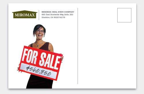 如何设计商业明信片