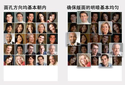 如何在宣传手册中对你的团队相片排版