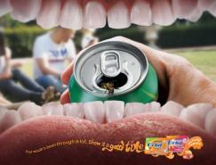 ORBIT口香糖平面广告