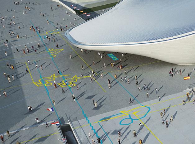 2012年伦敦奥运会体育图标公布