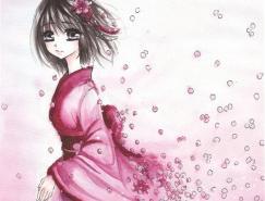 21张可爱的日式插画
