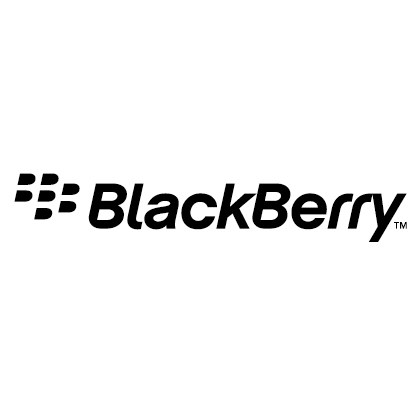 blackberry黑莓手机标志矢量图