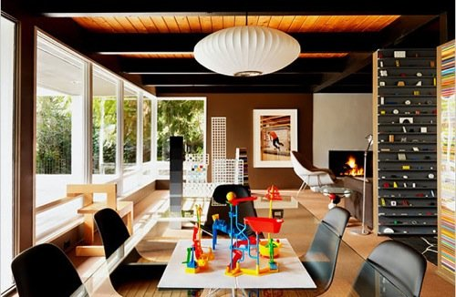 20个Mid-Century风格室内设计欣赏