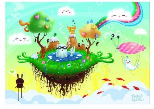 zutto可爱的创意插画(4) - 设计之家