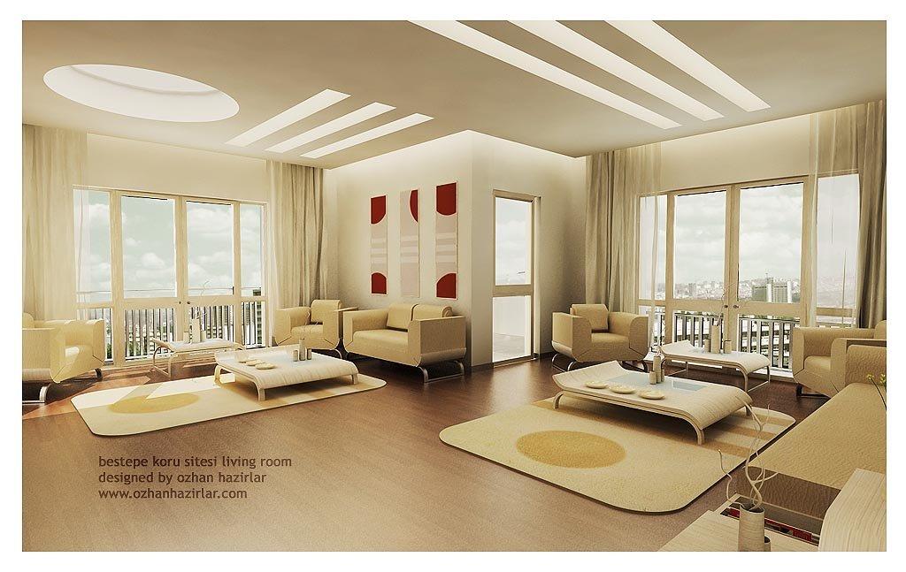 国外起居室设计精选 设计之家