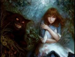 愛麗絲夢游仙境的精彩插圖