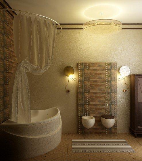 国外卫生间装修效果图欣赏(3) - 设计之家