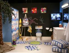 儿童主题浴室空间设计