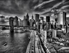 29張漂亮的城市黑白攝影