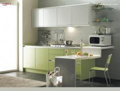 国外绿色系厨房设计欣赏