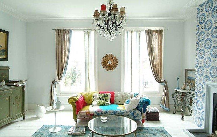 Georgian for Interiores de casas clasicas
