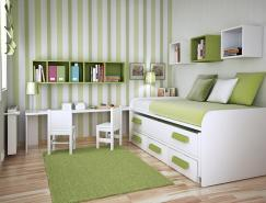 完美的空间利用:国外漂亮的儿童房设