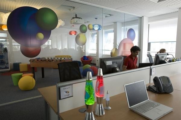 欧洲各地的google办公室 设计之家