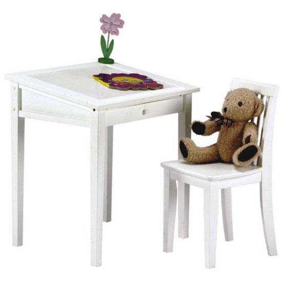 20个很酷的儿童桌椅设计