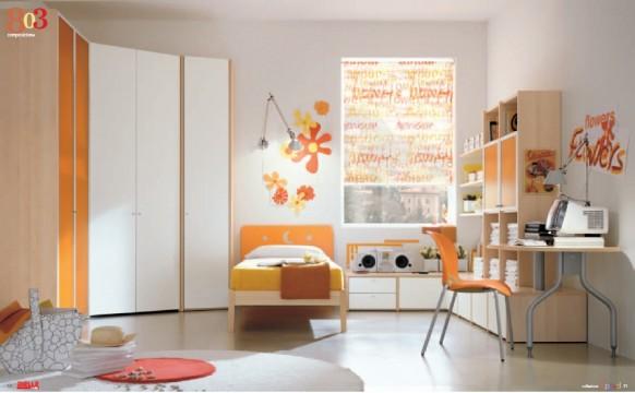 Dielle现代儿童房家具设计