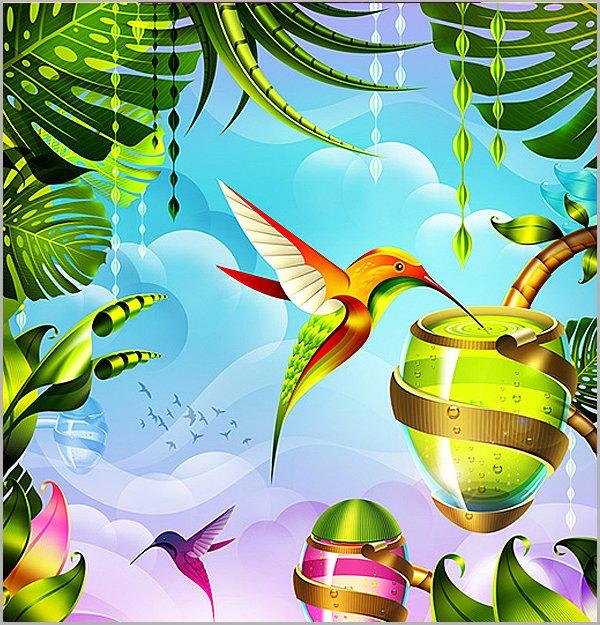 无限设计灵感:36张不同风格的插图设计
