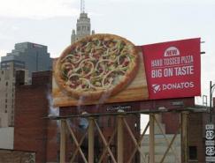 形式各異的比薩PIZZA創意廣告