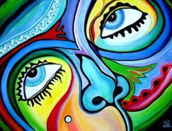 50張漂亮的水彩畫作品欣賞
