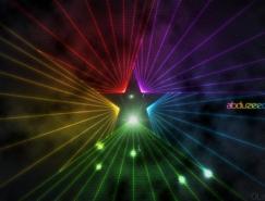 PS打造光芒四射的星星
