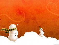 漂亮的圣诞①节和冬天题材壁纸