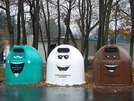 资讯_16个有趣的垃圾箱设计 - 设计之家