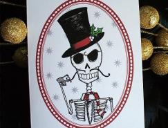 創意圣誕賀卡設計