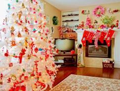 圣诞节家庭装饰欣赏