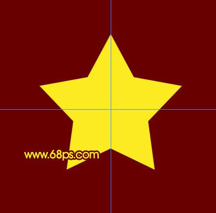 photoshop制作一个立体的五角星