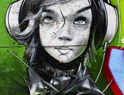 50个国外艺术涂鸦作品