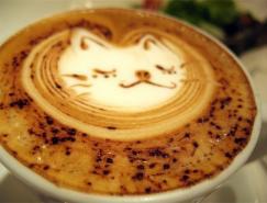 漂亮的图案:拿铁咖啡(Latte)艺术