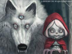 50张童话人物插图作品集