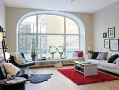 來自瑞典的一套簡約公寓設計