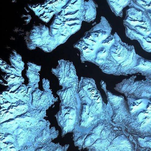 大自然的鬼斧神工: 壮阔的地球卫星照片(5) - 设计之家
