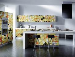 时尚花纹:现代厨房设计欣赏