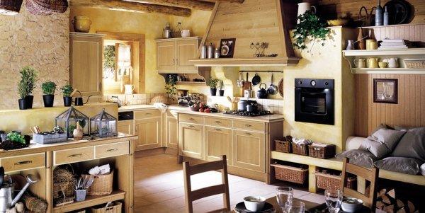 国外开放式厨房设计