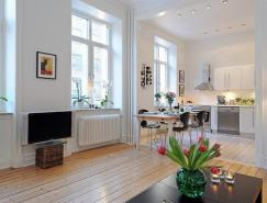 瑞典开放式小户型公寓设计