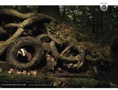 斯柯达汽车平面广告