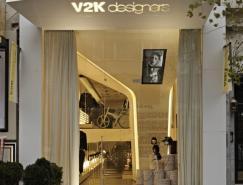 时装品牌V2KNisantasi店面设计