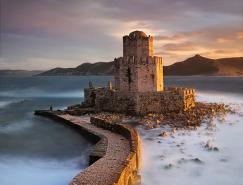 希臘Justelene美麗的風景攝影