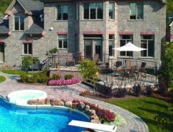 25例石材游泳池池面创意设计
