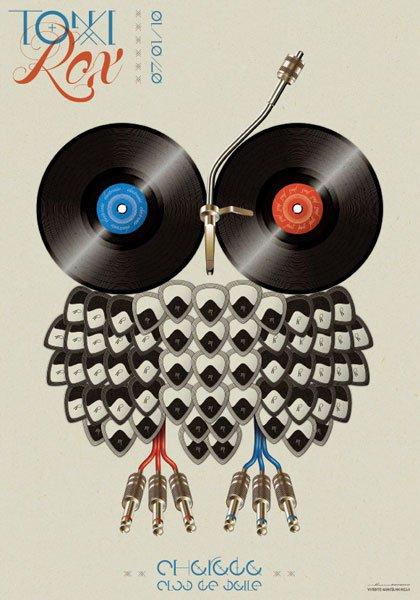 20款音乐海报设计