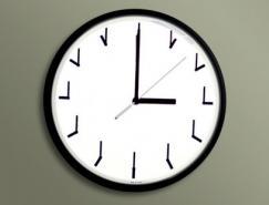 现代时尚挂钟和独特的时钟设计