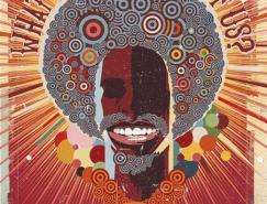 40张非洲风情的数字艺术插画作品