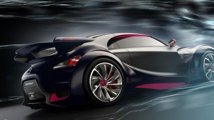 雪铁龙Survolt概念车设计